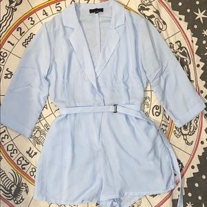 Missguided blazer romper